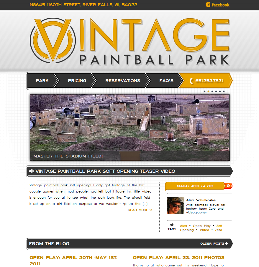 Vintage Paintball Park